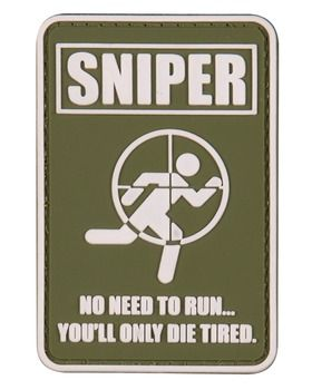 Sniper tactical patch