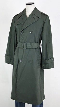 U S Army trench coat.